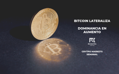 Bitcoin Lateraliza - Dominancia en Aumento