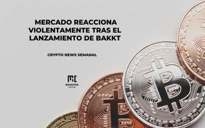 Mercado reacciona violentamente tras el lanzamiento de BAKKT